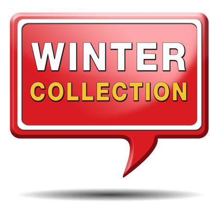 winter collection new latest fashion style icon or label Stock Photo - 22969494