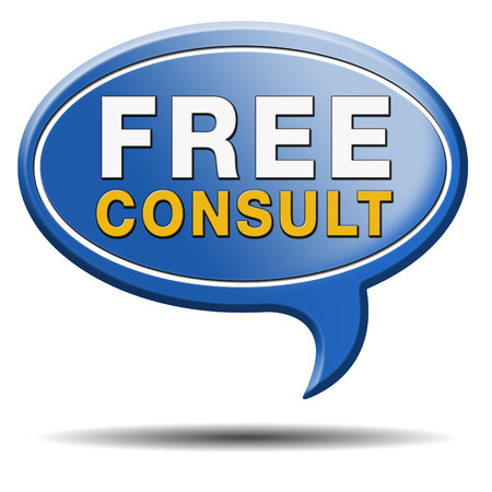 answers highway: free advice and gratis consultation for customers. Consult icon or sign.