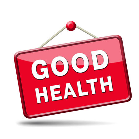 good health: good health healthy life and vitality energy sane mind and body icon button sign