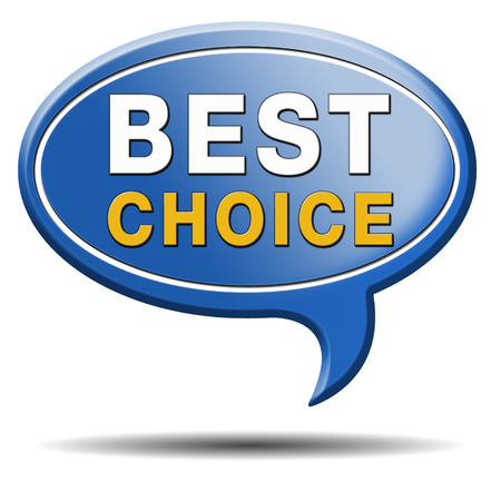 best rated: best choice top quality product guarantee label best icon comparison button with text and word concept