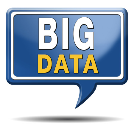 big data storage and analytics in the cloud or on external server Stock Photo - 23236678