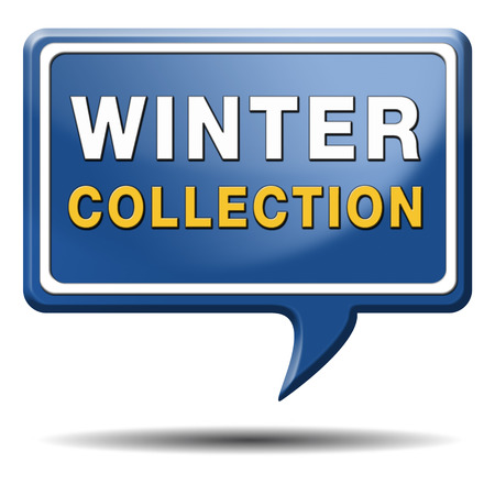 winter collection new latest fashion style icon or label Stock Photo - 23236718