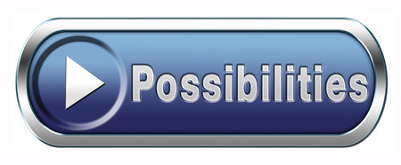 potentiality: possibilities and opportunities button or icon