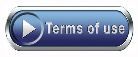 이용 약관 또는 사용자 문구 버튼 또는 아이콘