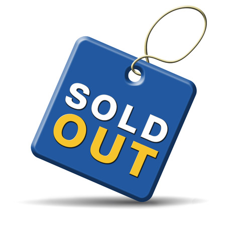 longer: sold out of stock no longer available icon or sign limited edition and final clearance banner Stock Photo