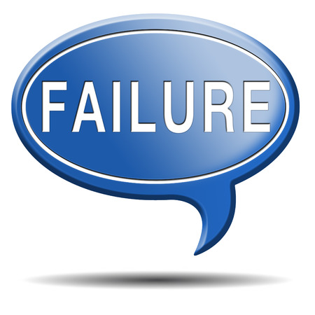 failure fail exam or attempt can be bad especially when failing an important job task or in your study failing an exam. You feel frustrated and being a looser, button or icon photo