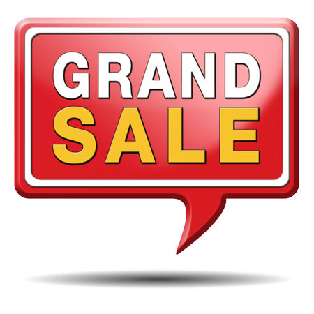 grand sale sales and reduced prices % off authorization granted or denied by bill computer and information security Stock Photo - 23545478