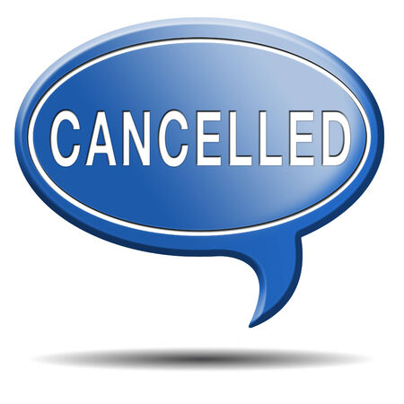 gig: Cancelled music concert gig or performance event