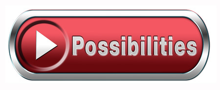 feasibility: possibilities and opportunities button or icon