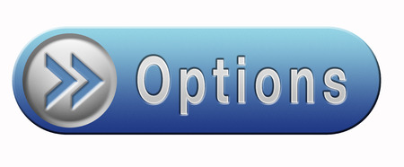diferent: Options different opportunities possibilities and alternative strategies Stock Photo