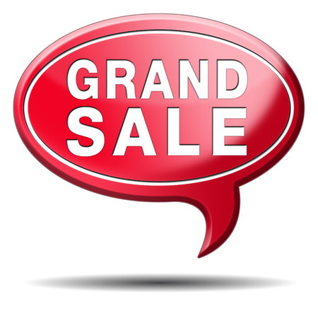 grand sale sales and reduced prices % off authorization granted or denied by bill computer and information security Stock Photo - 23723238