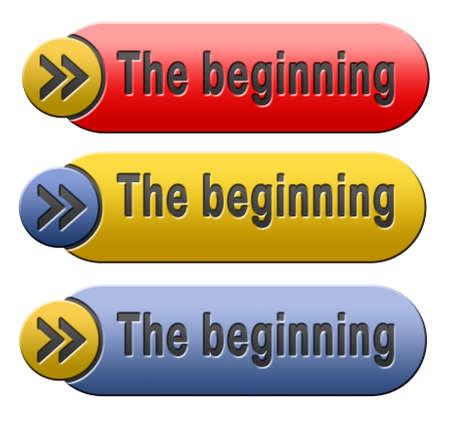 origin: the beginning button or start sign the origin icon
