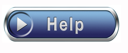 help icon: help search find assistance and support helping icon support desk help desk online support help icon support button  Stock Photo