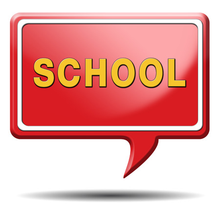 college towards good education and knowledge learn to know educate yourself and go to school Stock Photo - 23813052