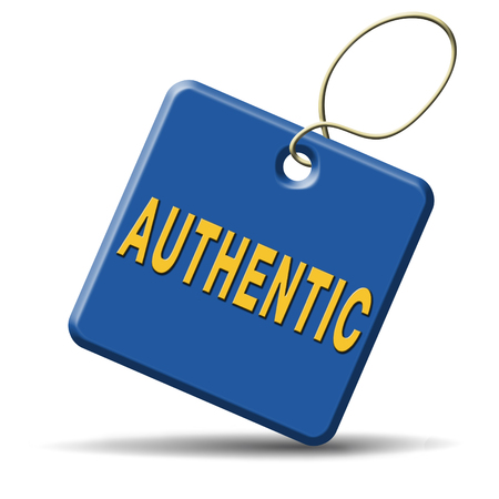 authenticity: authentic button or icon quality guaranteed label authenticity guarantee assurance label for highest product control