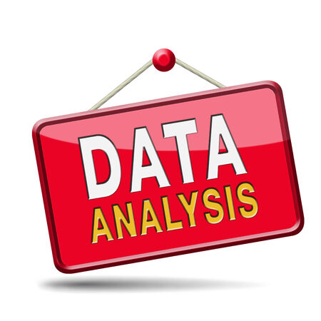 Analyse data and research business statistics and web analysis of cart or graphic  Stock Photo - 23911585