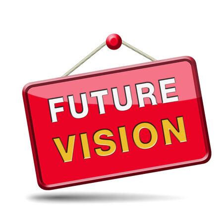 vision future: toekomstvisie futuristische