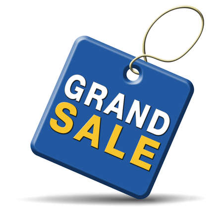 grand sale sales and reduced prices % off authorization granted or denied by bill computer and information security Stock Photo - 23911611