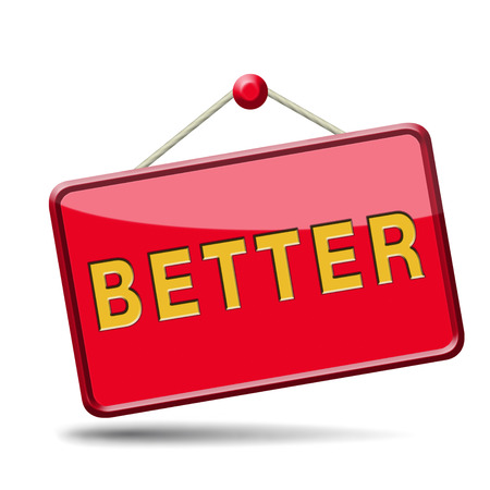 Better icon button or sticker Stock Photo - 23933203