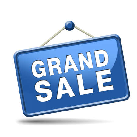 grand sale sales and reduced prices % off authorization granted or denied by bill computer and information security Stock Photo - 23932794
