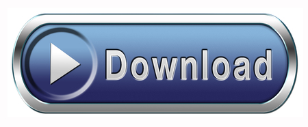download music: download music, video movie or data button or icon Stock Photo