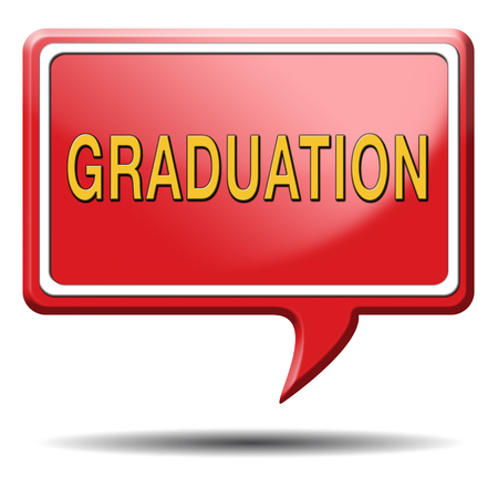 graduation at university college or high school finish education Stock Photo - 23992973