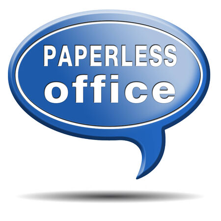 paperless: paperless office