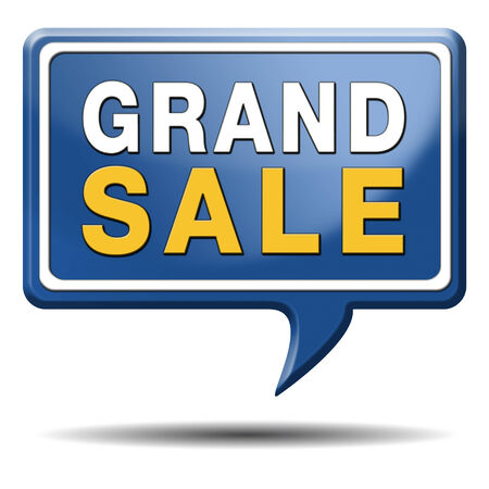 grand sale sales and reduced prices % off authorization granted or denied by bill computer and information security Stock Photo - 23992824