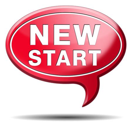 empezar: empezar una vida nueva carretera a comenzar fresco nuevo comienzo
