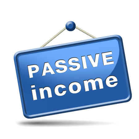 passive income earn money online earn more work less residual recurring income Stock Photo - 23992778