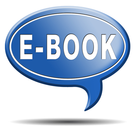 Ebook download and read online electronic book button or icon photo