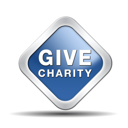 give charity button donate raise money to help donate gifts