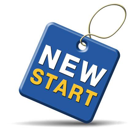 incominciare: avviare nuova strada vita a fresco iniziare nuovo inizio