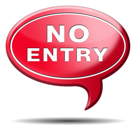only members: no entry access denied staff and members only password required restricted area