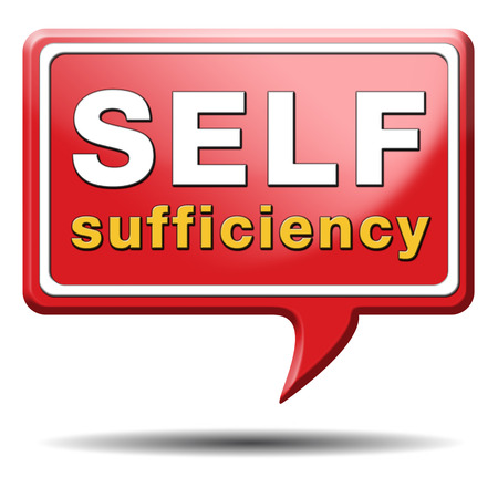 sufficiency: self sufficiency sustainable renewable energy and agriculture auto sufficient and simple living