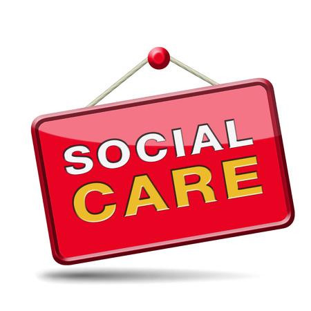 social care or security healthcare pension disability welfare photo