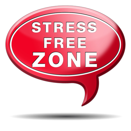 stress free zone totally relaxed without any work pressure succeed in stress test trough stress management reduce and control external pressure photo