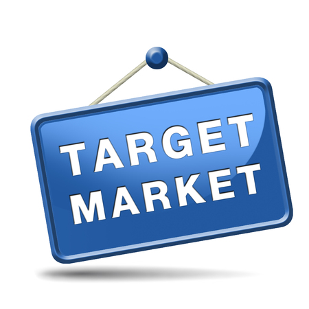 target market business targeting for niche marketing strategy Stock Photo - 24421111