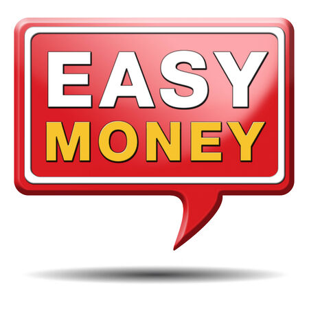 extra cash: fast easy money quick extra cash make a fortune online income  Stock Photo
