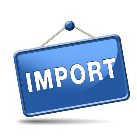 import international and worldwide or global trade on world economy market. importation and exportation photo