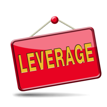 leverage notional or economic borrowing money hedge funds profits and losses assets liabilities Stock Photo - 24421246