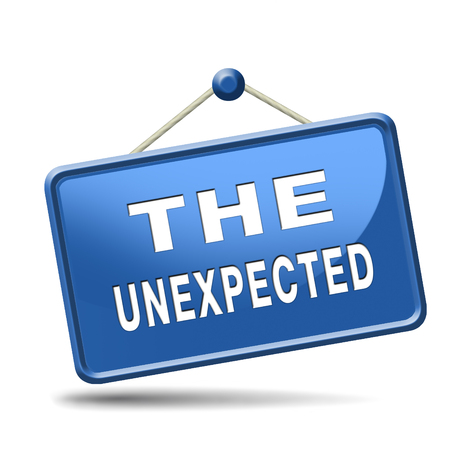 contradiction: the unexpected big surprise expect the unexpected