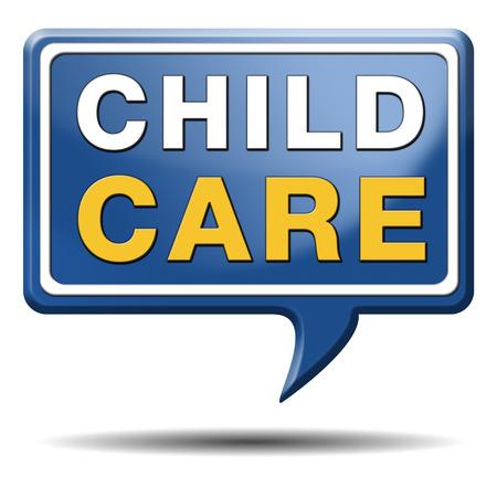 maltrato infantil: cuidado de ni�os en la guarder�a o guarder�a de ni�era o au pair paternidad o la protecci�n de canguro contra el maltrato infantil Foto de archivo