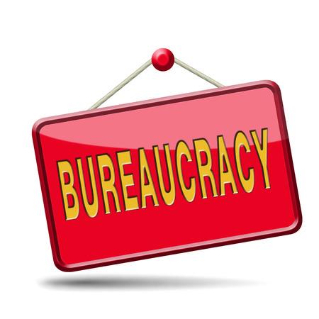 burocracia: Papelada e burocracia da administra