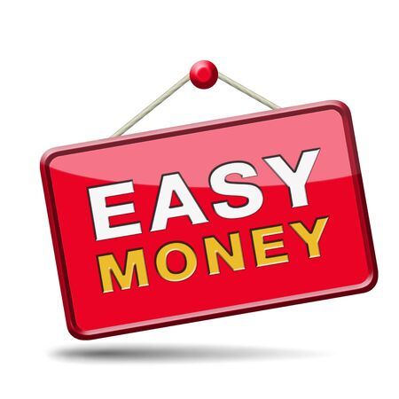fast easy money quick extra cash make a fortune online income  photo
