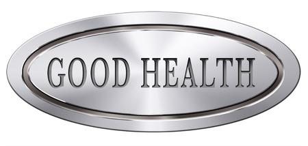 good health: gezond leven een goede gezondheid en vitaliteit energie leef gezond lichaam en geest pictogramknoop