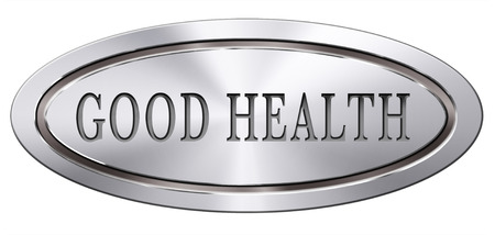 buena salud: salud sano vida y energ�a vitalidad viven mente sana y cuerpo de bot�n icono