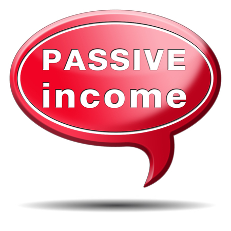 passive income earn money online earn more work less residual recurring income Stock Photo - 24457998