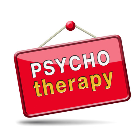 psycho social: psychology psycho therapy for mental health against depression trauma,phobia schizophrenia  Stock Photo
