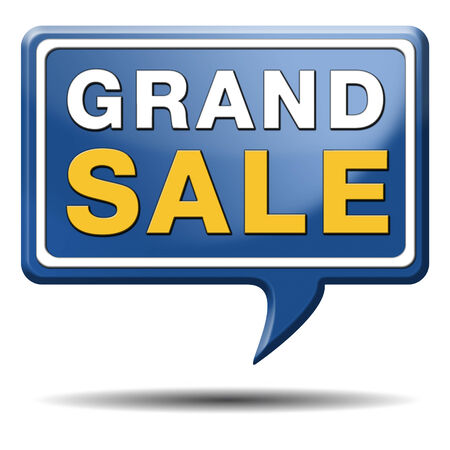 grand sale: grand sale sales and reduced prices % off